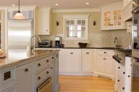 granite countertop cherry wood pantry cabinet ivory ceramic sink