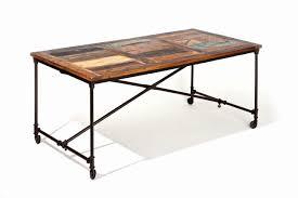 Esszimmer Tisch Vintage Esstisch Coffee Platte Aus Recycling Mangoholz