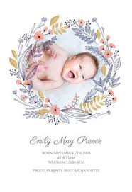 birth announcements free baby birth announcement templates greetings island