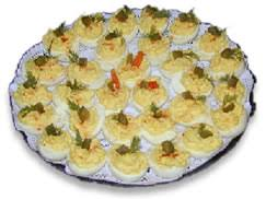 deviled eggs trays cheers delicatessen and liquor