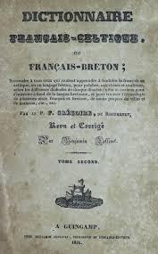 dictionnaire français celtique u2026 g de rostrenen u2026 tome 2 1834