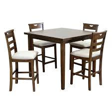 high dining room table counter height dining table room furniture