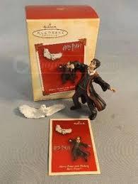harry potter and dumbledore hallmark ornament