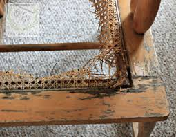 Recaning A Chair Recaning A Vintage Chair Things New