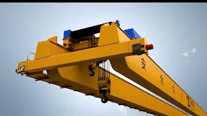 crane parts overhead crane parts assembly 3d presentation youtube