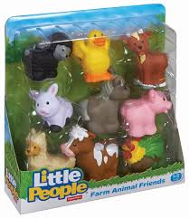 amazon com fisher price little people farm animal friends toys