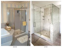 small bathroom ideas with shower stall small bathroom ideas with shower stall master remodel before and