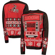 raiders light up christmas sweater cleveland browns ugly sweaters cleveland browns ugly christmas