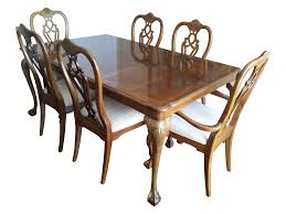 thomasville fisher park dining table chairs chairish image of