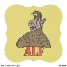 alf ceramic ornament