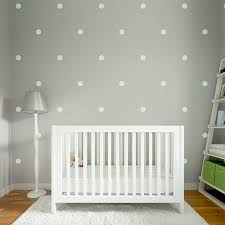 Polka Dot Wall Stickers  Decals For The Modern Nursery - Polka dot wall decals for kids rooms