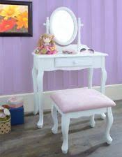 Childrens Play Vanity Kid U0027s Bedroom Vanities U0026 Makeup Tables Ebay