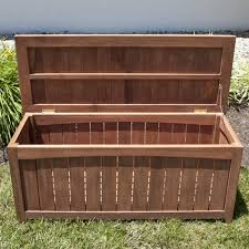 Patio Storage Chest by 4 Ft Teak Outdoor Backless Storage Bench Outdoor