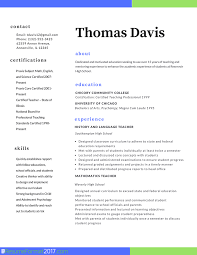 Formatting Education On Resume Teacher Professional Resume Format 2017 Resume Format 2017