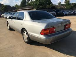lexus used car on sale 1998 lexus ls 400 luxury sdn 4dr sedan sedan for sale in houston