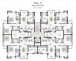 best elegant modern residential floor plans 5 16908