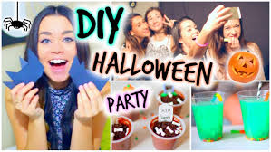 easy to make halloween party decorations halloween party diy treats decor u0026 activities youtube