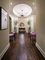 contemporary design i the circular recess ceiling