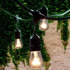 commercial outdoor string lights lemontec commercial grade outdoor string lights with 15 hanging