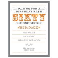 60th birthday party invitations theruntime com