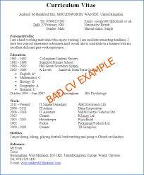 Resume Exampls by Download Good Sample Resume Haadyaooverbayresort Com