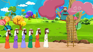 zacchaeus and jesus bible stories for children bible for