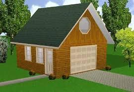 x32 cabin w loft plans package blueprints material list 20x20 garage w loft plans package blueprints material list