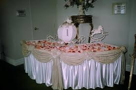 wedding gift table ideas coqueise s two tier wedding table set for 18 bridal
