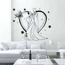 wall decals wedding beauty salon girl boy dance romantic art vinyl wall decals wedding beauty salon girl boy dance romantic art vinyl decor da3782 stickalz