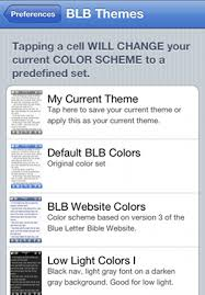 the blb for iphone user manual preferences