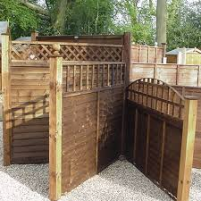 Curved Trellis Fence Panels We Stock All Types Of Fencing And Supply Hertfordshire