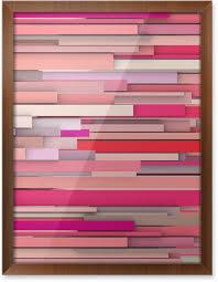 imagenes variadas en 3d póster enmarcado telón de fondo abstracto 3d en forma variada rosa y