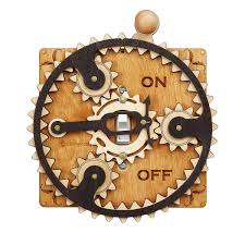 Steampunk Home Decor Planet Gear Switch Plate Laser Cut Steampunk Light Switch Covers