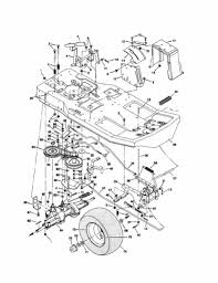 murray lawn mower parts diagram drive belt chentodayinfo