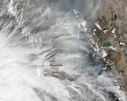 Wildfires California September 2015 by Blanket Of Smoke From Northern California Fires Nasa