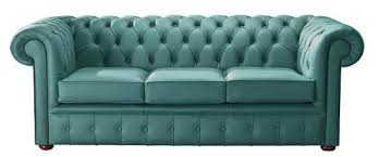 teal chesterfield sofa teal leather chesterfield 3 seater sofa designersofas4u