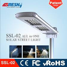 selling mounted outdoor all in one solar light from