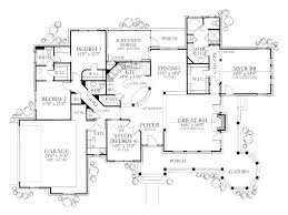 4 bedroom house plans 1 story baby nursery 4 bedroom house plans with wrap around porch 4