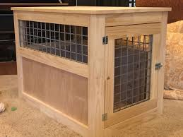 Making Wooden End Tables by Diy Wooden Dog Crate 40 Worth Of Materials Just Need To Put In