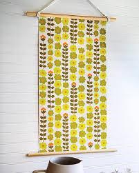 vintage wallpaper wall hanging sweet paul magazine