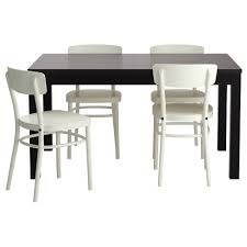 Ikea Dining Room Tables Bjursta Idolf Table And 4 Chairs Ikea