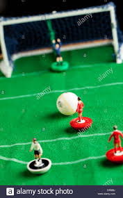 table top football games subbuteo table top football game stock photo royalty free image