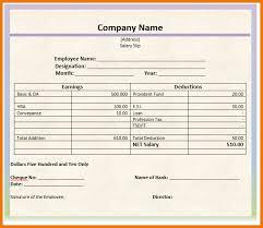 6 salary slip format postal carrier
