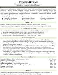 Faculty Resume Sample by Online Teaching Resume Best Resume Collection