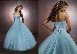 robe de mariã e bleue de mariee bleu ciel