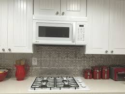 aluminum backsplash kitchen princess aluminum backsplash tile 0604 dct gallery