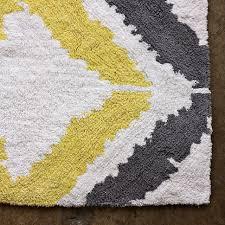 Grey Bathroom Rugs Yellow And Grey Bath Rug Roselawnlutheran