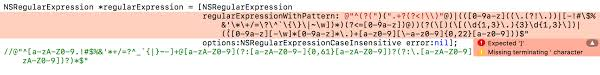 email validation pattern regex email validation using regex expression in c not working in