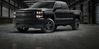 dodge blackout truck black out work truck is chevy silverado special