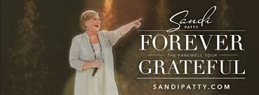 sandi patty announces forever grateful the farewell tour with